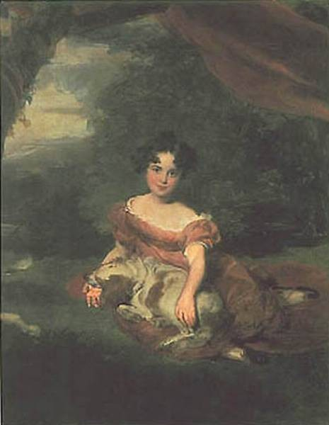 Portrait of miss Peel BGG